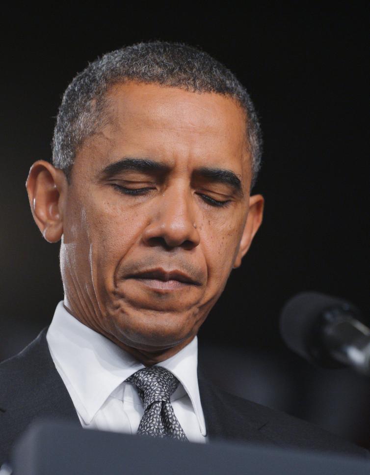 US President Barack Obama speaks on the