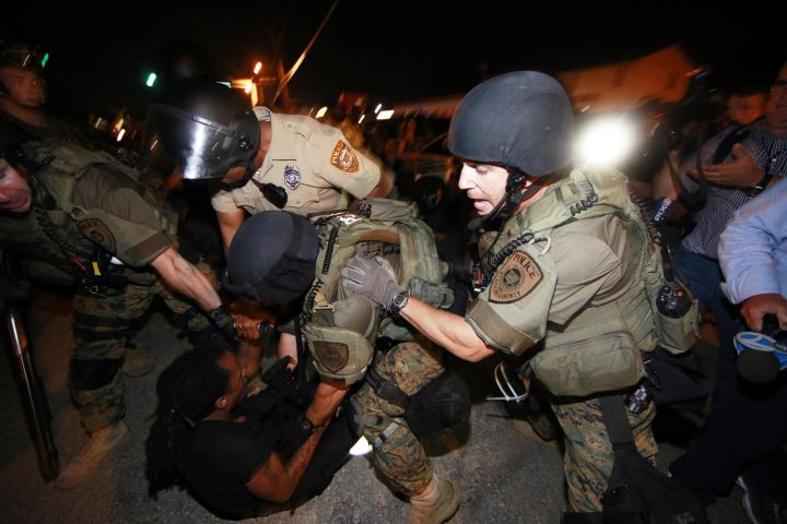 2014: Unrest in Ferguson plagued the city after police officers clashed with protesters.