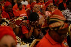 Nigerians rally for missing schoolgirls