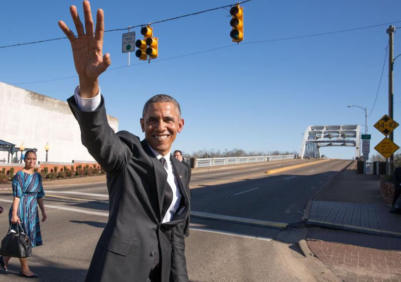 President Obama at Selma 50 March