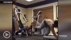 WTH?! Thursday: Epic Treadmill Fail Caught On Tape