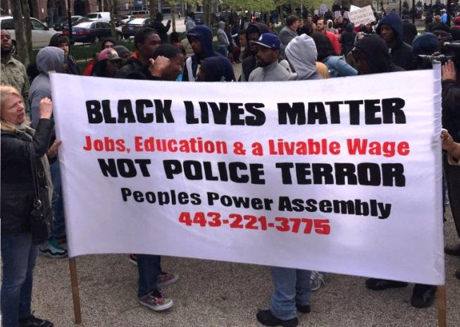 Freddie Gray Protest 4-23-15
