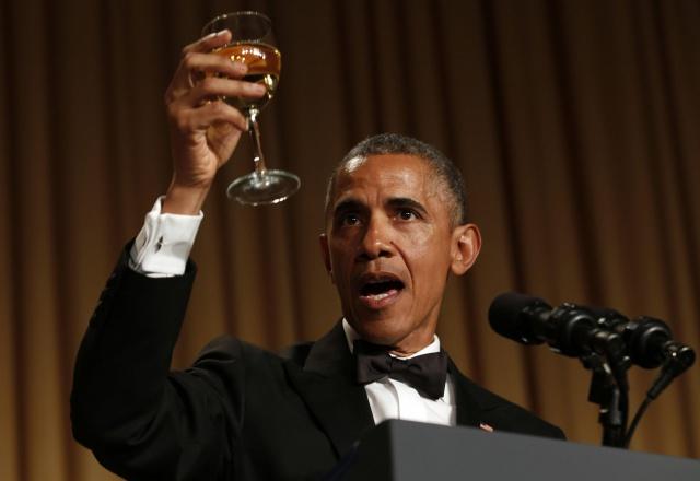 White House Correspondents Dinner Obama