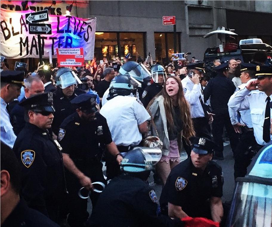 New York Freddie Gray Protest