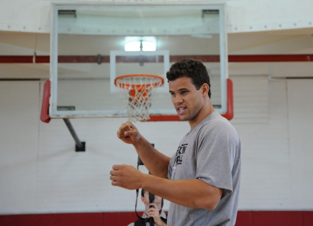 The Kris Humphries Challenge For Kids Event