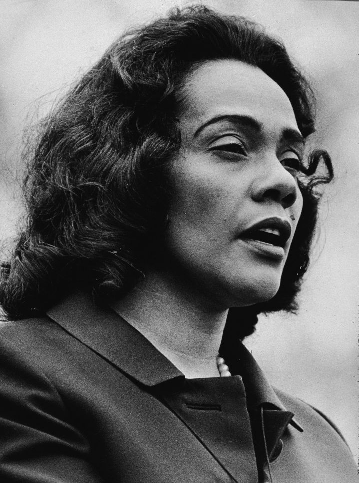 "On Finding Her Purpose After MLK's Death: ""I prayed that God would give me the direction for my life, to give me the strength to do what it was, and the ability to do what it was that he had called me to do. And I was trying to seek, 'What is it that I'm supposed to do, now that Martin is no longer here?'"""