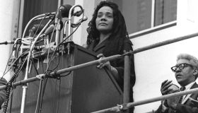 Coretta Addresses The Memphis Crowds