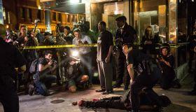 Protestor arrested Baltimore Freddie Gray