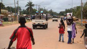 Africa UN Peacekeepers