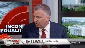 NYC Mayor Bill De Blasio Talks Income Inequality & Mass Incarceration