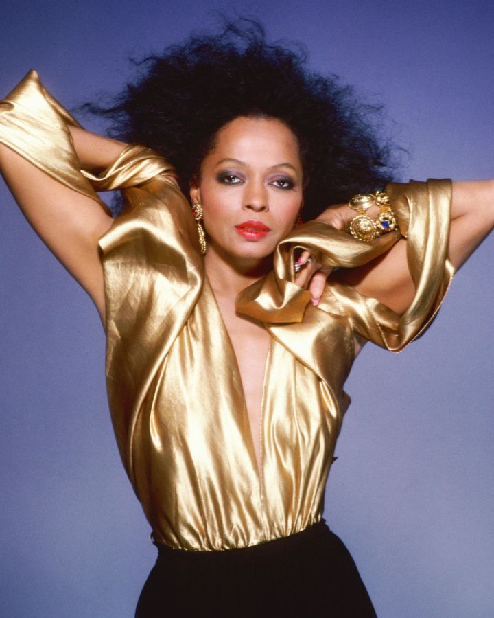 Back Then: Diana Ross | Age 30