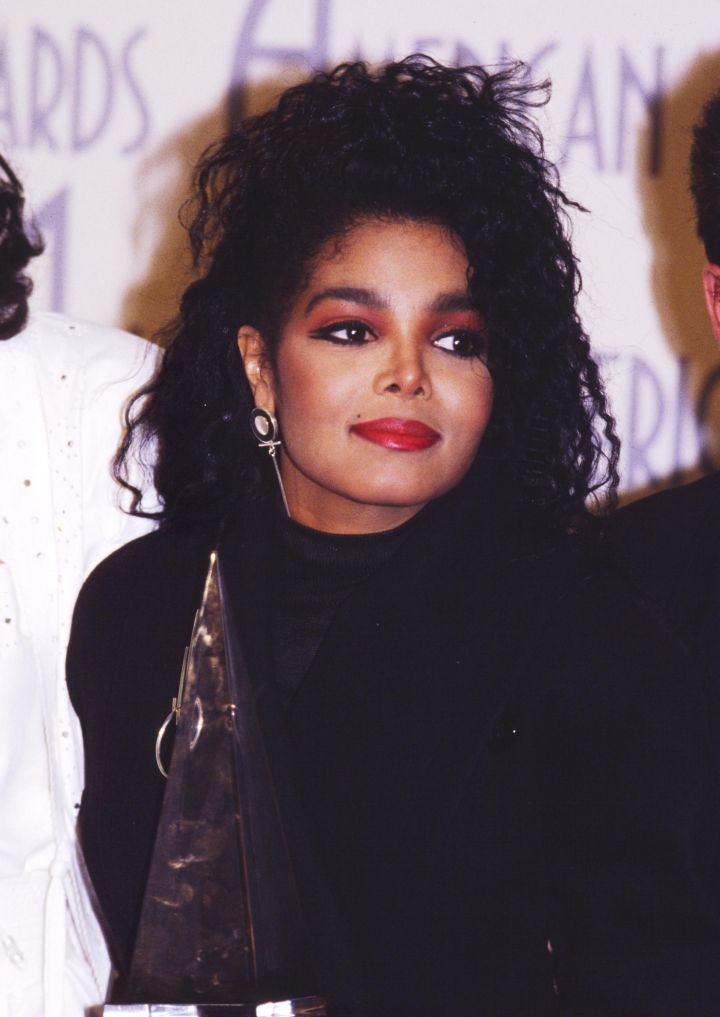 Back Then: Janet Jackson | Age 28