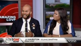 Amazing Love: JJ Hairston And Wife, Trina Talk About Their New Marriage Ministry