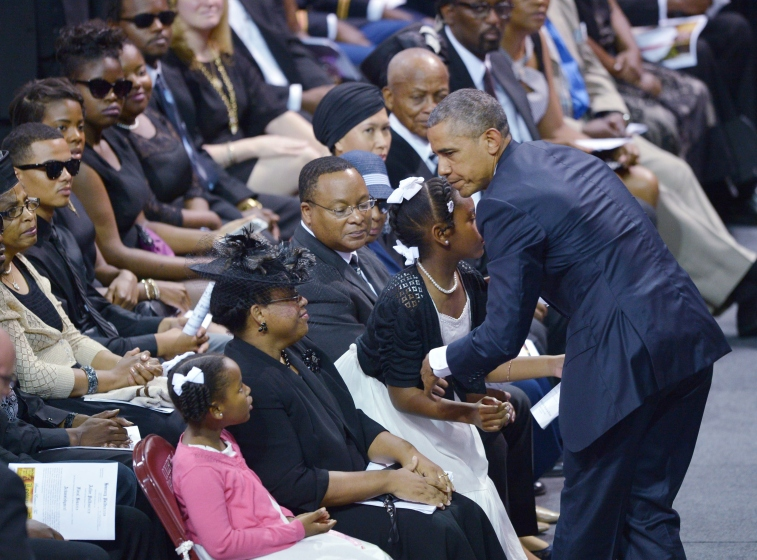 Barack Obama, Charleston, Clementa Pinckney