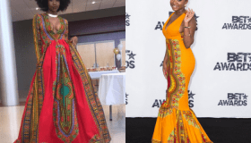 Viral Star Creates Hollywood Event Dress (Kyemah McEntyre, Naturi Houghton)