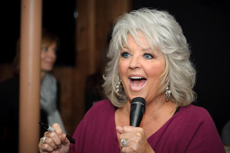 Paula Deen Signs Copies Of 'Paula's Southern Cooking Bible'