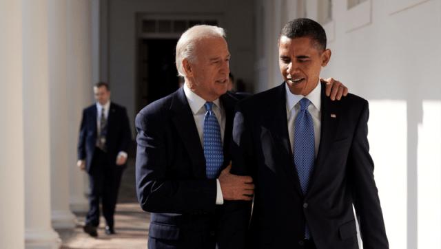 Vice President Joe Biden and President Obama