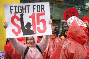 Fast Food Workers Across U.S. Rally For Increased Wages, Unionization