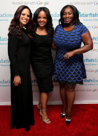 Soledad O'Brien, Starfish Board Member Kim Bondy and Bevy Smith attend Soledad O'Brien & Brad Raymond Starfish Foundation Hosts Fifth Annual New Orleans To New York City Gala at Espace on July 16, 2015 in New York City.