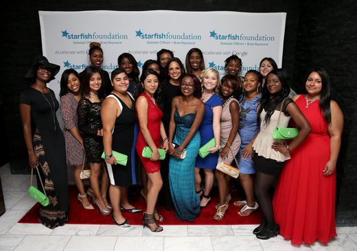 Starfish Scholars at Soledad O'Brien & Brad Raymond Starfish Foundation Hosts Fifth Annual New Orleans To New York City Gala at Espace on July 16, 2015 in New York City.
