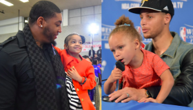 Riley Curry and Leah Still