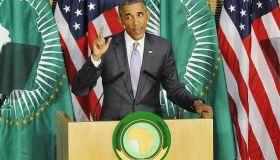 President Obama Addresses African Union