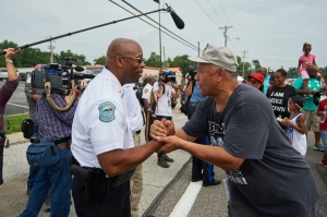 Ferguson Interim Police Chief Andre Johnson