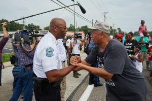 Ferguson Interim Police Chief Andre Johnson