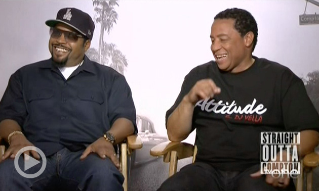 "Hip Hop Pioneers Ice Cube, DJ Yella Dish ""Straight Outta Compton,"" Discuss The History Of Police Violence Against The Black Community"
