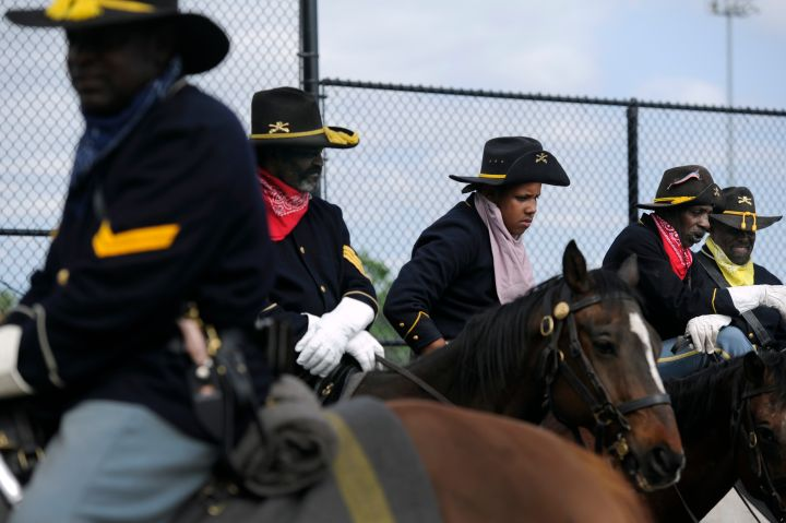 Buffalo Soldiers Honored in Denver's 5 Points Neighborhood