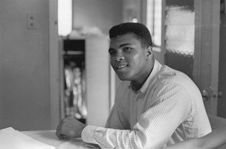 Muhammad Ali: Known to many as the greatest fighter of all time, the boxer used his fame to speak out on many racial issues. After he earned a gold medal for 1960 Olympics in Rome, he was refused service in a diner for the color of his skin. These and other moments led the fighter to speak out against racism. He also stayed true to his Muslim beliefs and refused to fight in the Vietnam war after he was drafted. His decision to not fight with the Army led to him being stripped of his heavyweight title, sentenced to five years in prison, fined $10,000 and banned from boxing for three years. He returned to the ring in the 70's, and had wins and losses during his battles with Joe Frazier, George Foreman and Larry Holmes. After he retired from boxing in 1981, he discovered he had Parkinson's Disease in 1984.