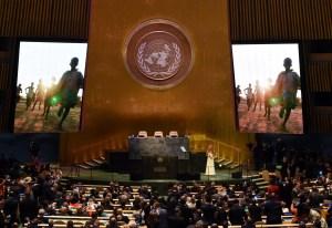 UN-GENERAL ASSEMBLY-SHAKIRA