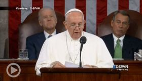 In Addresses To Congress Pope Francis Confronts The Death Penalty, Criminal Justice