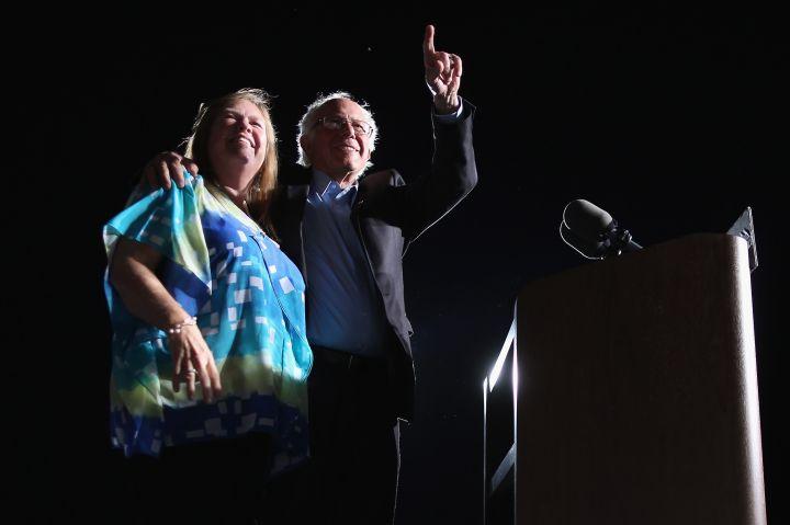 Bernie & Jane O'Meara Sanders