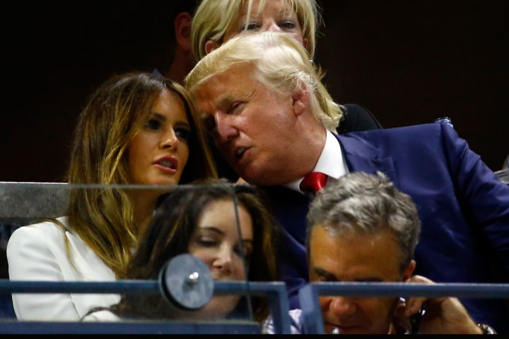 Donald & Melania Knauss-Trump