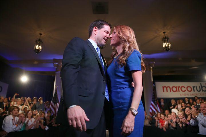 Marco Rubio & Jeanette Dousdebes