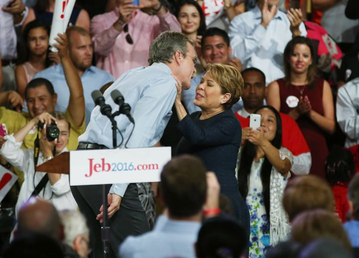 Jeb & Columba Bush