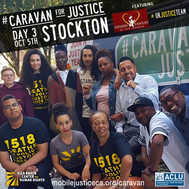 Caravan For Justice Day Three Stockton