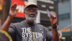 Carl Dix, co-founder of the Stop Mass Incarceration Network...