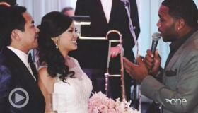 Wedding Crashers: Anthony Anderson And Roland Martin Crash A Wedding Reception In Houston