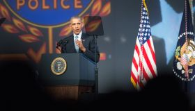 President Obama Addresses Int'l Association Of Chiefs Of Police Law Enforcement Conf.