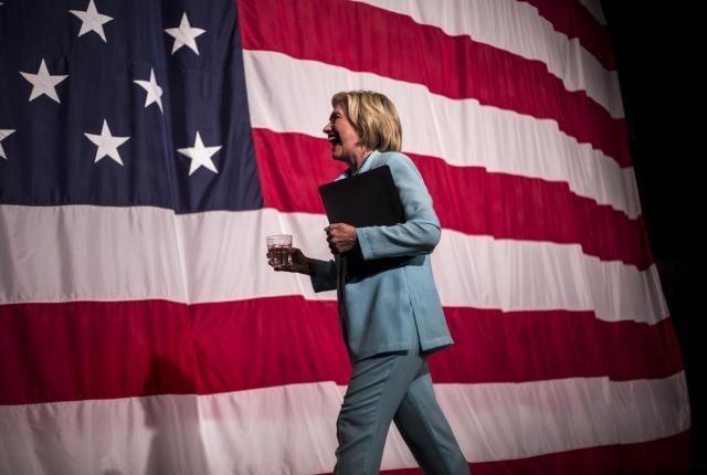 Former Secretary of State Hillary Clinton