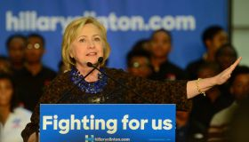 African Americans For Hillary Grassroots Organizing Meeting With Hillary Clinton