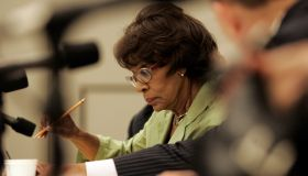 Maxine Waters at a house Judiciary Hearing about the proposed combination of Comcast and NBC–Univer