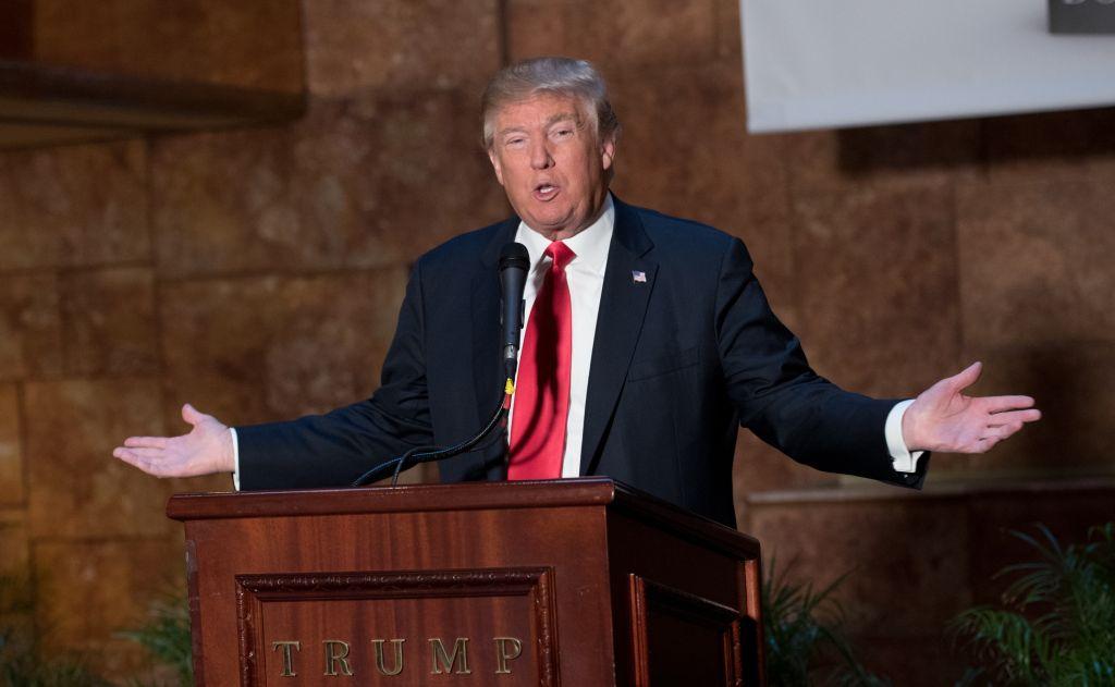 Donald Trump's 'Crippled America' Book Press Conference