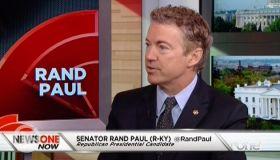 NewsOne Now EXCLUSIVE: Rand Paul Talks 2016, Black Business, Criminal Justice Reform, #BlackLivesMatter & More