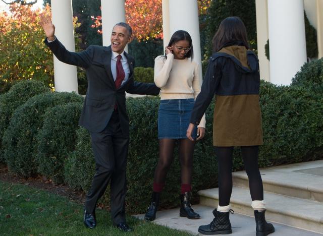 US-POLITICS-THANKSGIVING-OBAMA