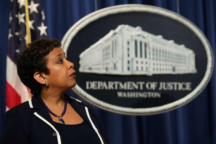 Loretta Lynch Announces Major Civil Settlement, Discusses Paris Attacks