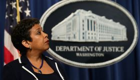 Loretta Lynch Announces Major Civil Settlement, Discusses Paris Attacks