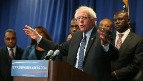 Democratic Presidential Candidate Bernie Sanders Meets With African-American Civic Leaders In Baltimore